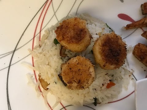 Scallops vegan (Updated full version)Hearts of palm