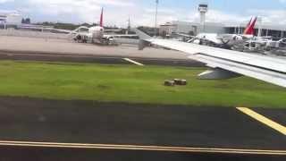 Philippine Airlines Airbus 320-200, Landing @ Manila (NAIA) Davao (DVO) - Manila (MNL)