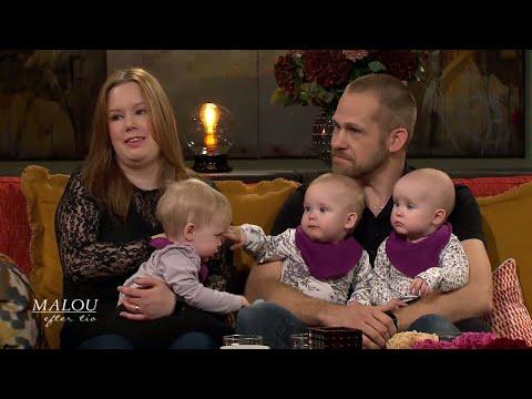 Tina och Mats frlorade tv barn - sedan intrffade ett stort mirakel - Malou Efter tio (TV4)