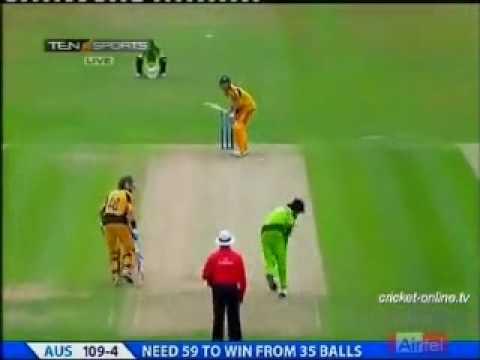 Mohammad Aamer 3-27 against Australia