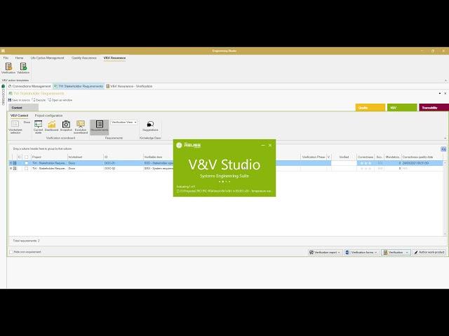 V&V Studio: 5 - Interoperability