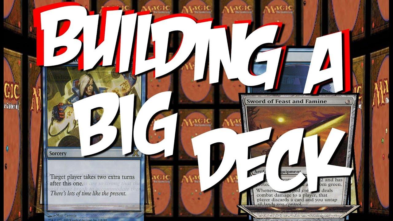 Mtg How To Build A Big Deck