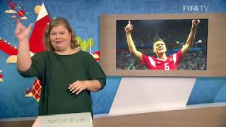 fifa wc 2018 - rus vs egy  for deaf and hard of hearing - international sign