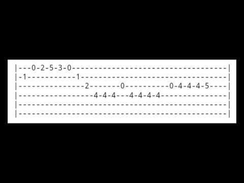 Tablature les simpson pour guitare youtube - Guitare simpson ...