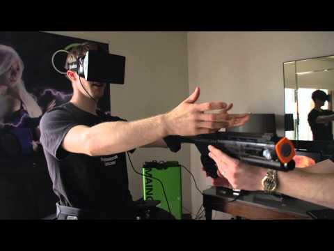 Virtuix Omni & Oculus Test Drive - Linus & Slick Virtual Reality Virgins