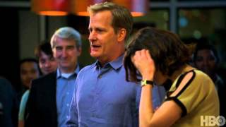 The Newsroom Season 1: Episode 7 Clip - Will's Welcome Speech