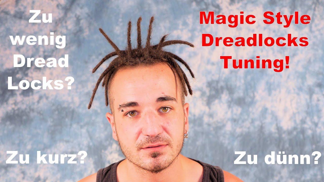 Dreadlocks Zu Kurz Zu Dünn Zu Wenige Die Lösung Magic Style Dreadlockstuning