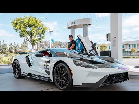 FINALLY DRIVING MY HERITAGE EDITION FORD GT! || Manny Khoshbin