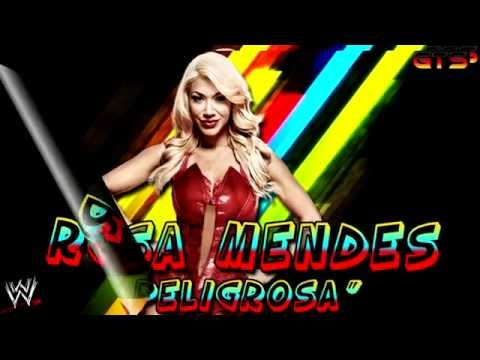 """2014: Rosa Mendes - WWE Unused Theme Song - """"Peligrosa"""" [Download] [HD]"""