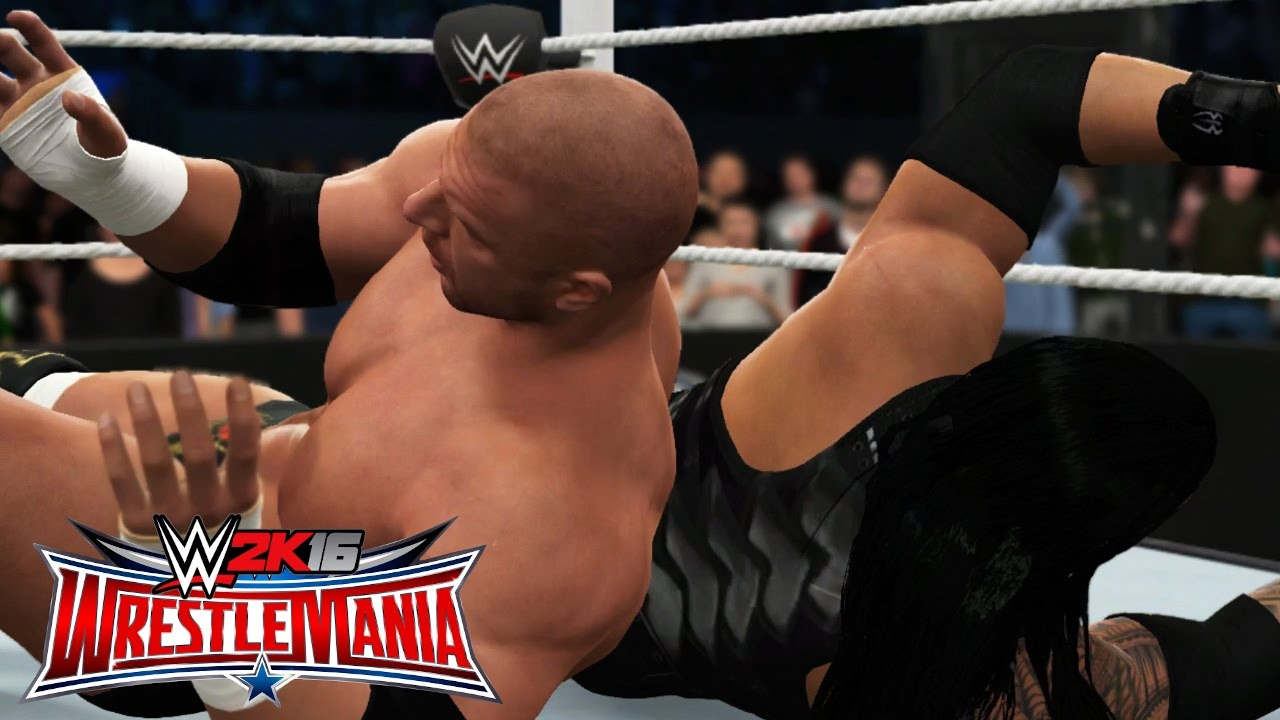 Download WWE 2K16 Wrestlemania 32 - Triple H vs Roman Reigns - WWE World Heavyweight Championship (WWE 2K16)