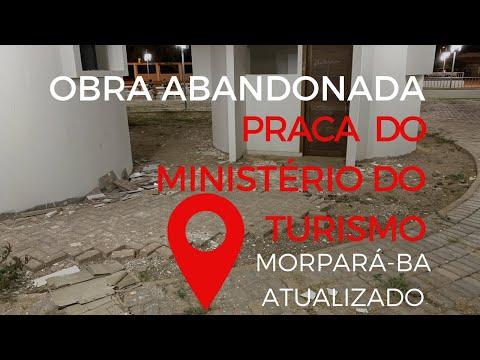 Praça Do Ministério Do Turismo na cidade de Morpará no estado da Bahia 24 De Setembro De 2019