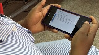 Nurses in Zambia are learning on tablets | CCFC and ChildFund through MasterCard Foundation