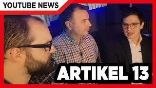 Besuch von den Abgeordneten Hübner & Vogt | Parteien: Artikel 13 schlägt Wellen