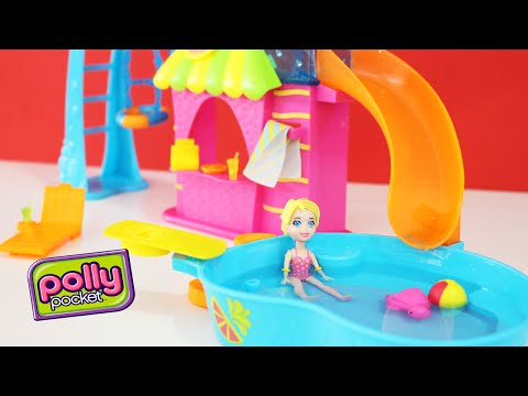 Polly pocket festa na piscina pool party flip 39 n swim for Piscine polly pocket
