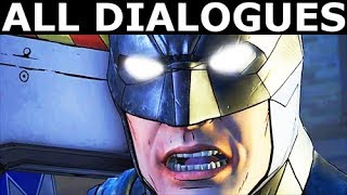 Waller's Final Scene - All Dialogues - Vigilante Joker Path - BATMAN The Enemy Within Episode 5