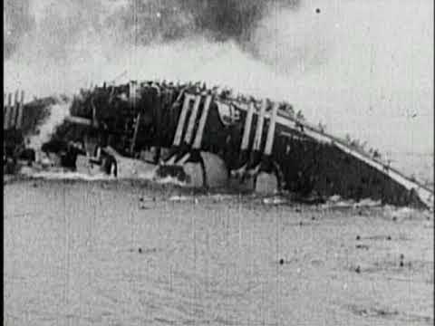 Battleship Capsizes