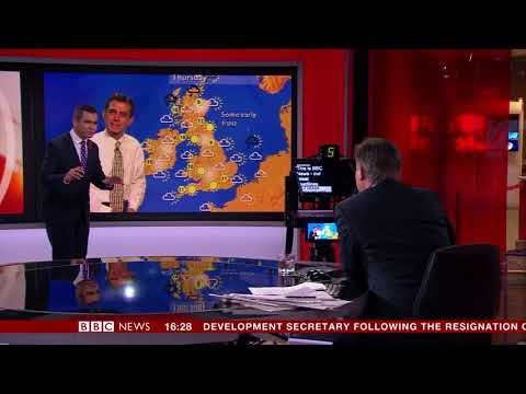 BBC News Channel at 20: Ben Rich Weather (Daniel Corbett)
