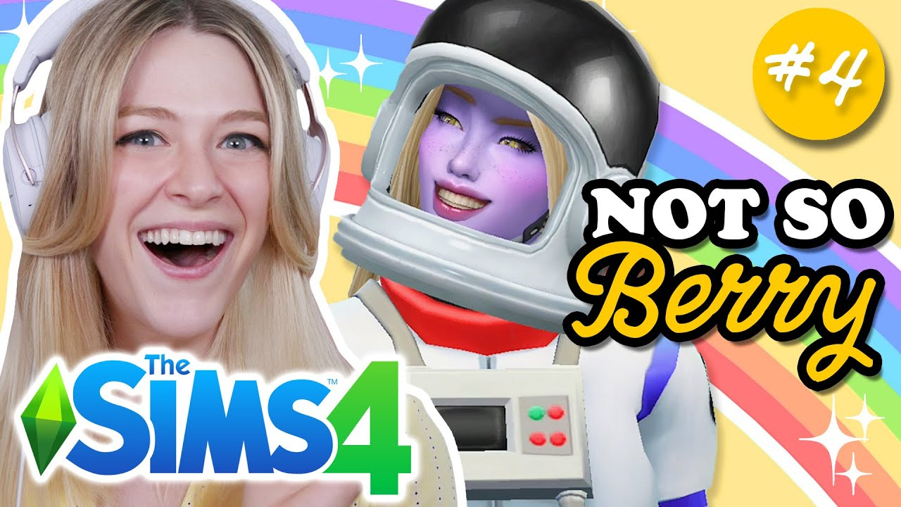 Download The Sims 4 But I Race Aliens In Space | Not So Berry Yellow #3