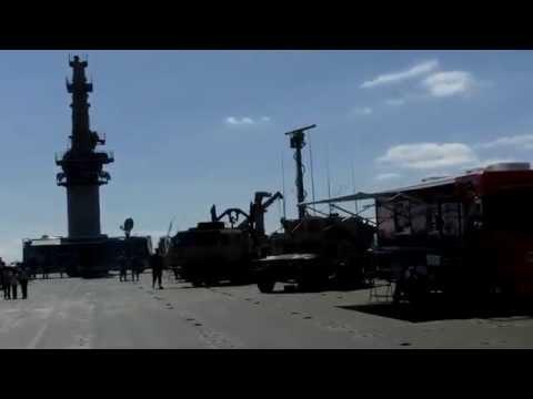 On Board Transport Ship MV CAPE HUDSON, AKR  Navy Fleet Week SF