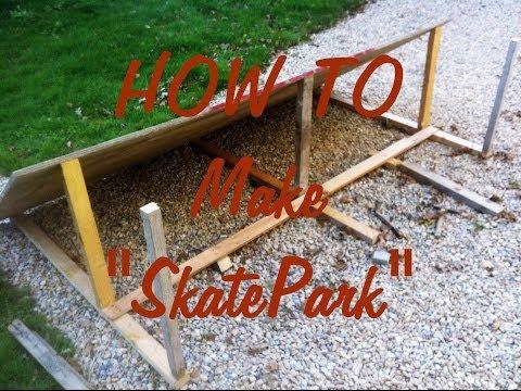 Comment Fabriquer Votre Propre Petit Skatepark (dans Une Maison) - Tuto & Demo