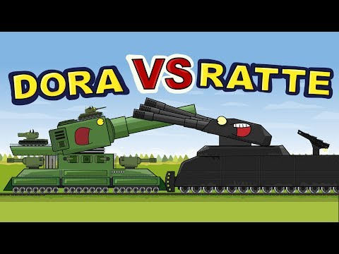 """Railroad Giants"" Cartoons about tanks"