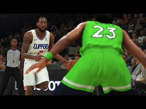 Clippers Vs Timberwolves Full Game Highlights | NBA Feb 8th, 2020 Los Angeles Vs Minnesota (NBA 2K)