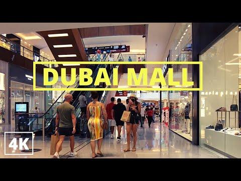 DUBAI MALL AT WEEKEND I 4K WALKING TOUR I 30 JULY 2021 I UAE 🇦🇪