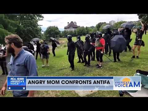 Angry Mom Calls out Antifa and BLM