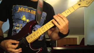 Slayer War Ensemble Guitar Lesson