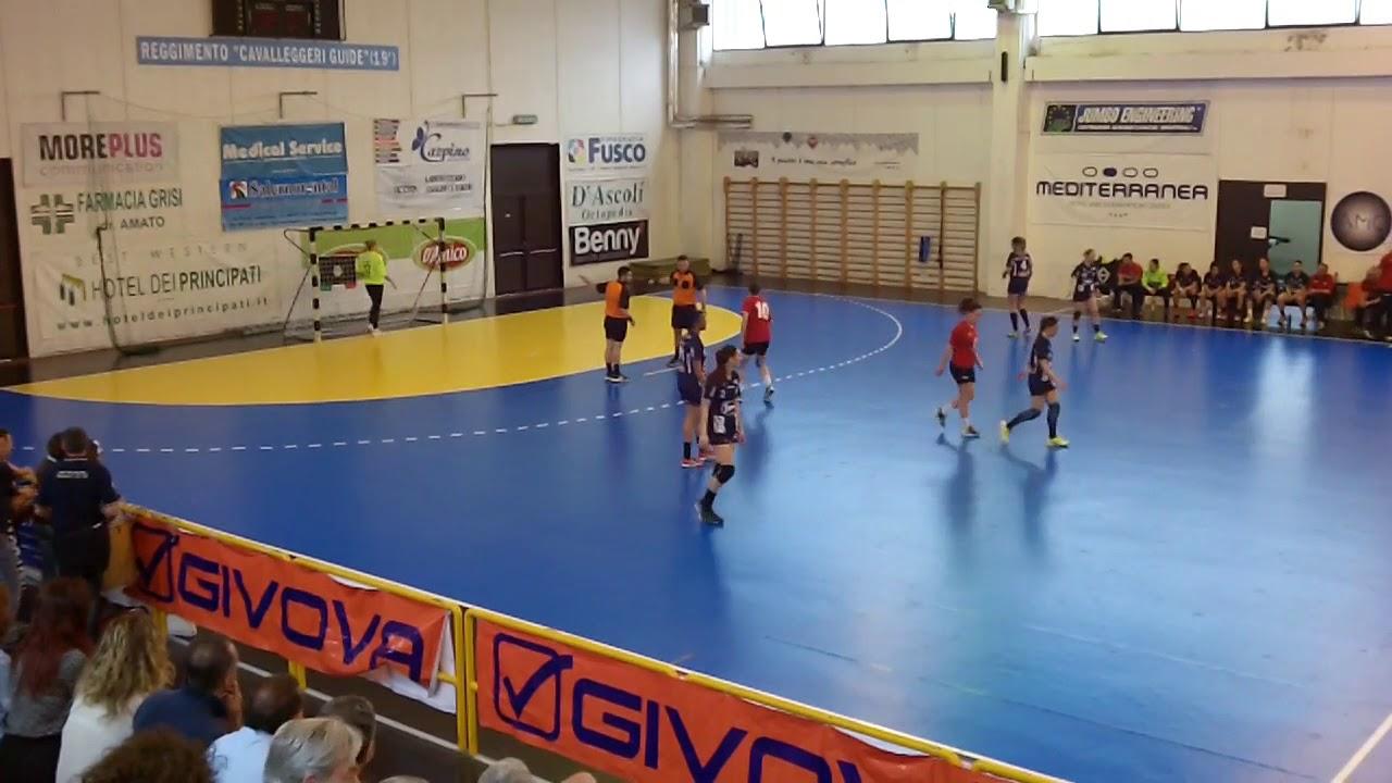 Serie A1F [Semifinali G2]: Salerno - Casalgrande Padana 31-20