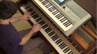 Pitbull AfroJack The Wanted - Have some Fun piano & keyboard synth cover by LiveDjFlo