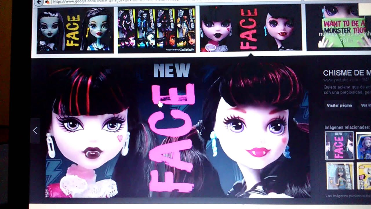 Nuevas Caras De Las Monster High Youtube
