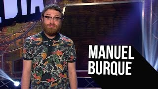 """Manuel Burque: """"Me agobia mucho todo"""" - El Club de la Comedia"""