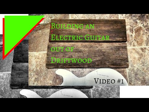 Driftwood Guitar, Video #1