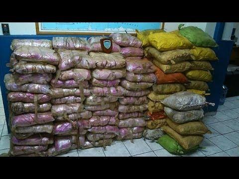 Greek drugs raids seize 2.1 tonnes of heroin