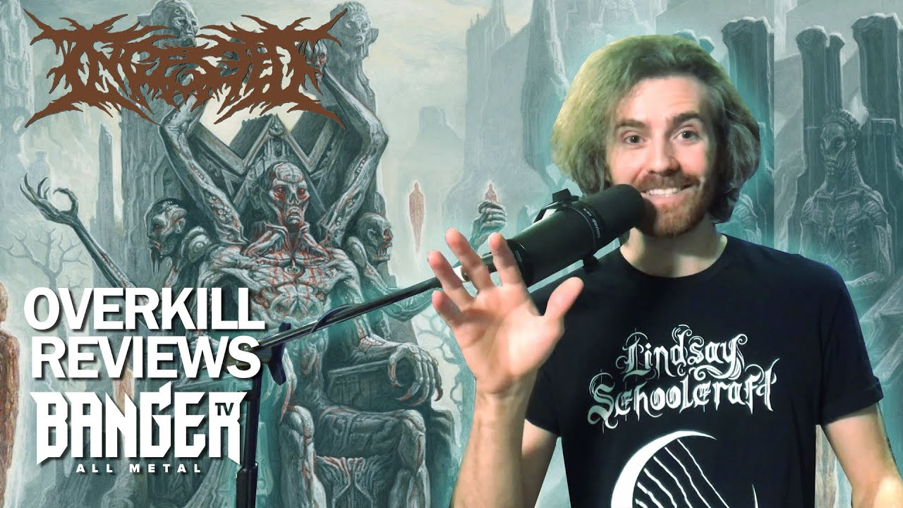 INGESTED Where Only Gods May Tread Album Review | Overkill Reviews