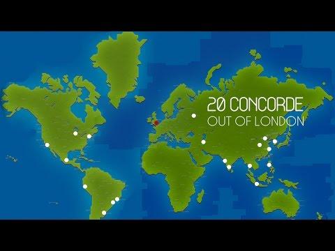 Pocket Planes: 20 Concorde 'Straight Outta London'