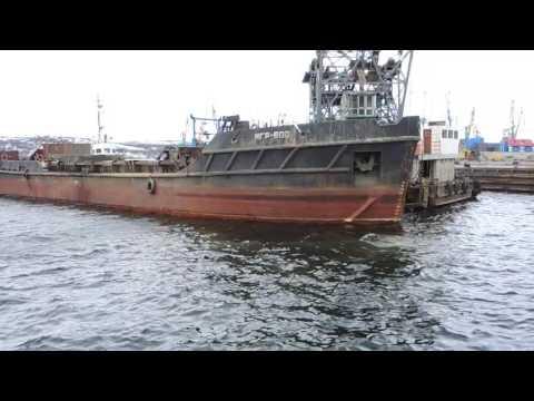 Dredging the Murmansk harbour