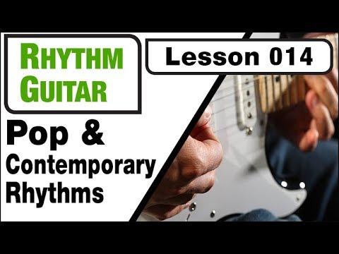 RHYTHM GUITAR 014: Pop & Contemporary Rhythms