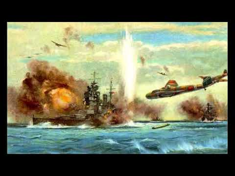 Imperial Japanese Military Song - British Oriental Fleet Sunk  (英国東洋艦隊潰滅)