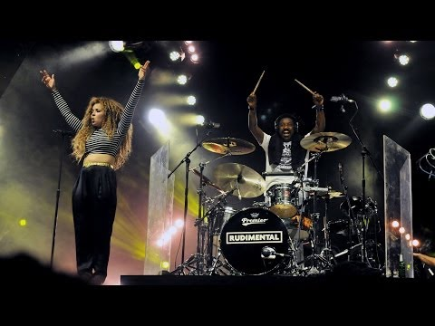 Rudimental featuring Ella Eyre - Waiting All Night at 1Xtra Live 2013