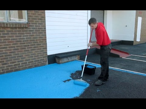 How To Make Asphalt And Tarmac Safe With Anti Slip Paint