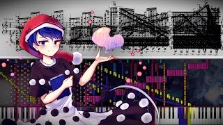 Black Score: Touhou 15 - Eternal Spring Dream | 140,000+ Notes | Black MIDI