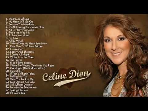 Celine Dion - BEST Songs Ever  For  2018