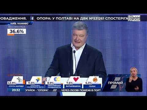 Виступ Петра Порошенка  21.07.2019