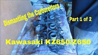 Kawasaki KZ650/Z650 B1 1977 - Engine Disassembly - Part 10