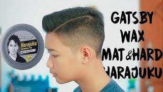 REVIEW POMADE GATSBY STYLING WAX MAT & HARD HARAJUKU STYLE (Indonesia)
