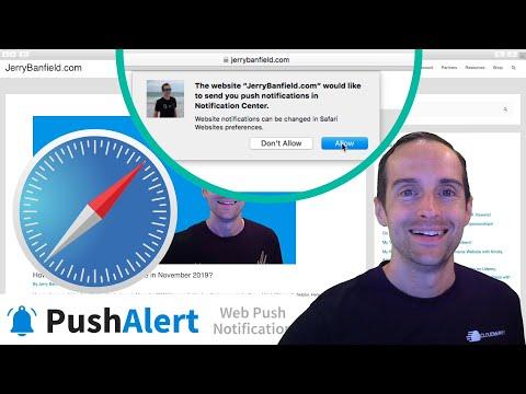 Safari Browser Push Notifications Setup with PushAlert in WordPress via Apple Developers!