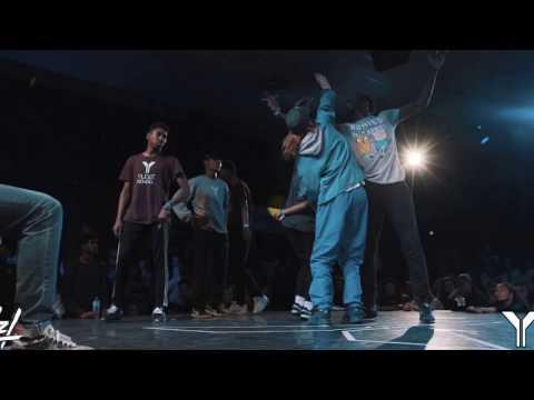 Young Battle 2017 | Finale 3vs3 Hiphop | Athypique VS Yudat School | DNZL.
