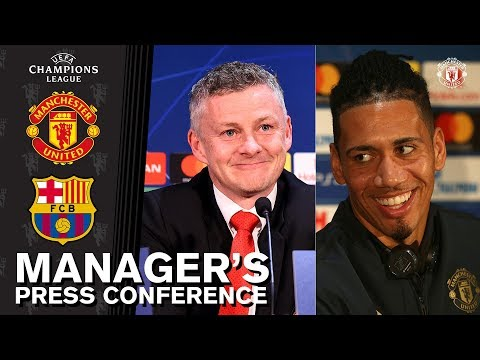 Manager's Press Conference | Manchester United v Barcelona | UEFA Champions League